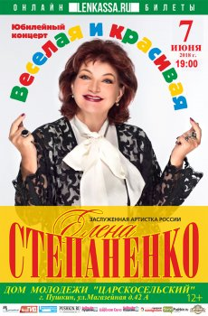 Концерт Елены Степаненко